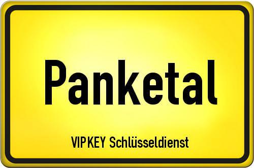 Ortseingangsschild Brandenburg - Panketal