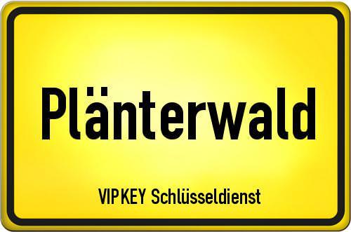 Ortseingangsschild Berlin - Plänterwald