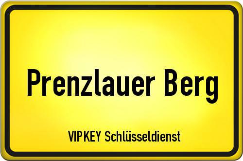 Ortseingangsschild Berlin - Prenzlauer Berg