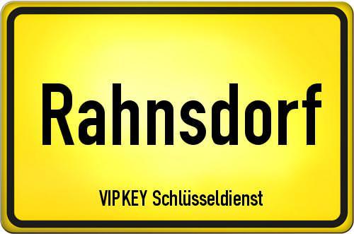 Ortseingangsschild Berlin - Rahnsdorf