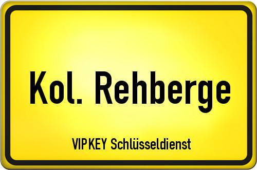 Ortseingangsschild Berlin - Kol. Rehberge