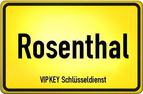 Ortseingangsschild Berlin - Rosenthal