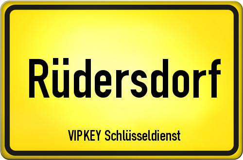 Ortseingangsschild Brandenburg - Rüdersdorf