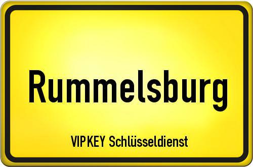 Ortseingangsschild Berlin - Rummelsburg