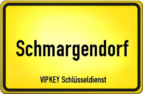 Ortseingangsschild Berlin - Schmargendorf