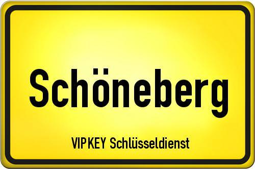 Ortseingangsschild Berlin - Schöneberg