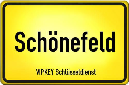 Ortseingangsschild Brandenburg - Schönefeld