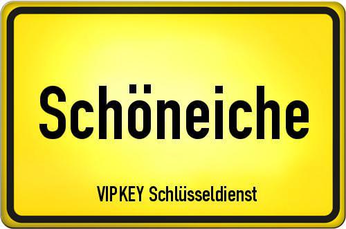 Ortseingangsschild Brandenburg - Schöneiche