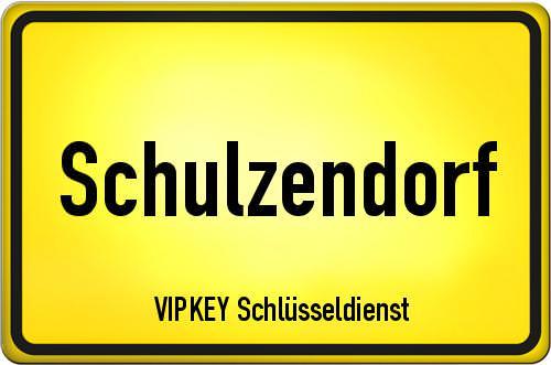 Ortseingangsschild Brandenburg - Schulzendorf
