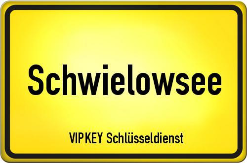 Ortseingangsschild Brandenburg - Schwielowsee