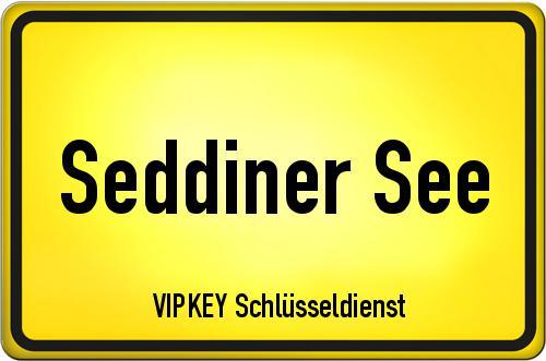 Ortseingangsschild Brandenburg - Seddiner See