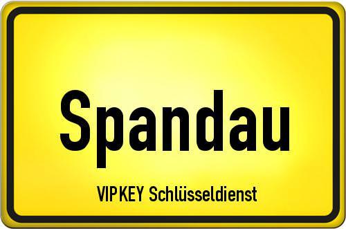 Ortseingangsschild Berlin - Spandau