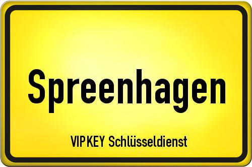 Ortseingangsschild Brandenburg - Spreenhagen