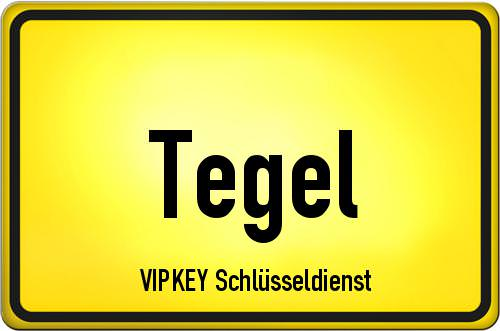 Ortseingangsschild Berlin - Tegel