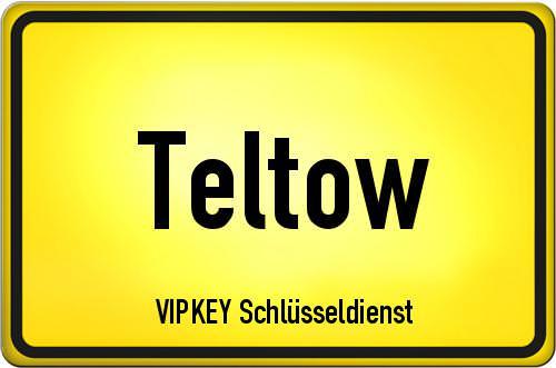 Ortseingangsschild Brandenburg - Teltow