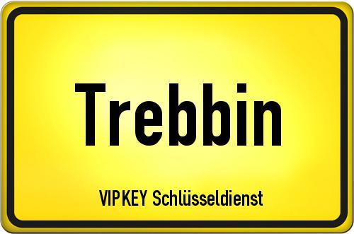 Ortseingangsschild Brandenburg - Trebbin