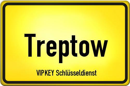 Ortseingangsschild Berlin - Treptow