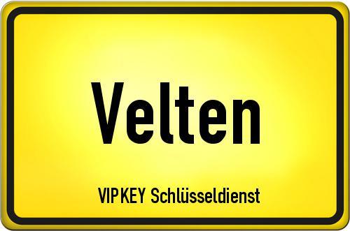 Ortseingangsschild Brandenburg - Velten