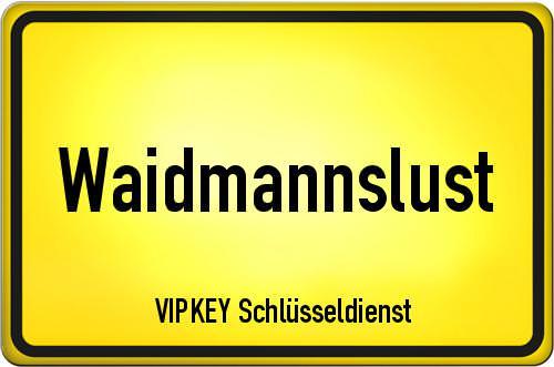 Ortseingangsschild Berlin - Waidmannslust