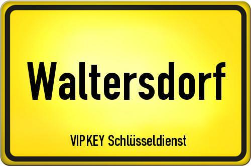 Ortseingangsschild Brandenburg - Waltersdorf