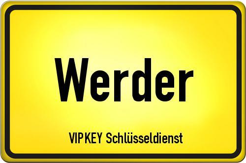 Ortseingangsschild Brandenburg - Werder