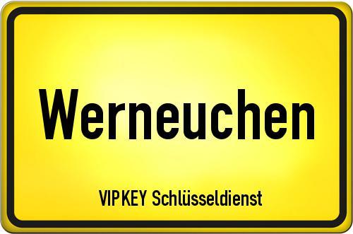 Ortseingangsschild Brandenburg - Werneuchen