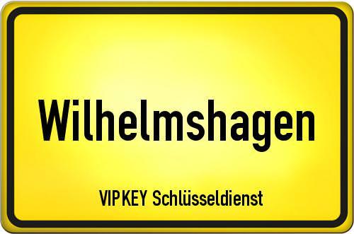 Ortseingangsschild Berlin - Wilhelmshagen
