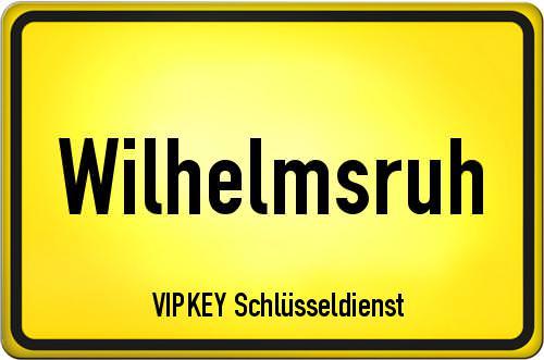 Ortseingangsschild Berlin - Wilhelmsruh