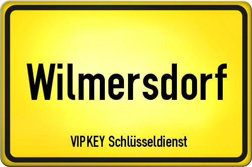 Ortseingangsschild Berlin - Wilmersdorf
