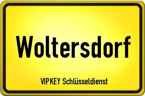 Ortseingangsschild Brandenburg - Woltersdorf