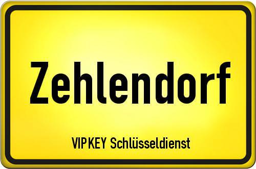 Ortseingangsschild Berlin - Zehlendorf