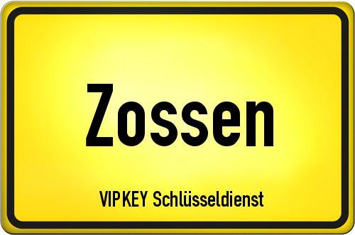 Ortseingangsschild Brandenburg - Zossen